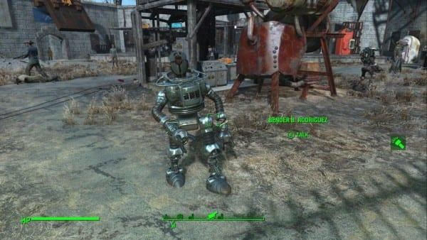 Bender, Futurama, Fallout 4, Automatron, DLC, companion