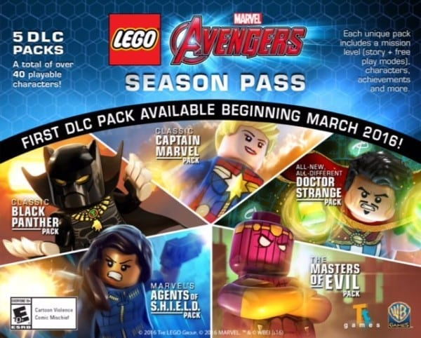 LEGO Marvel Avengers Season Pass