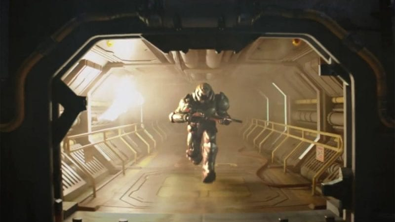 Glorious cinematic trailer for Doom - Fight Like Hell