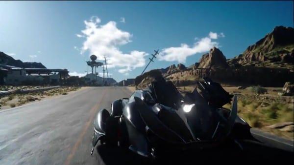 Final Fantasy XV, FFXV, car, jet
