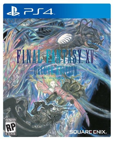 FFXV Deluxe Edition Box Art