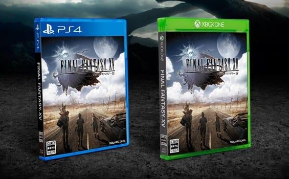 Final Fantasy XV, box art, japanese, FFXV, Uncovered