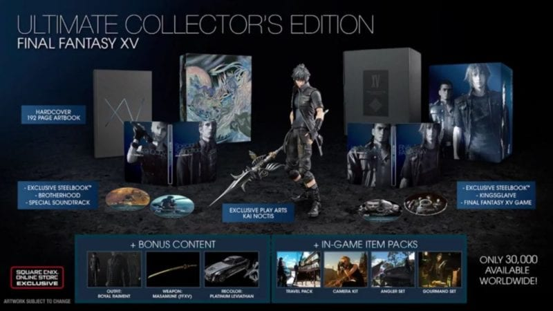 FFXV Ultimate Collector's Edition
