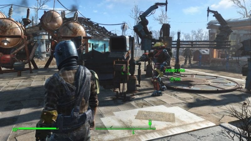 Fallout 4 Automatron Eyebot Pod