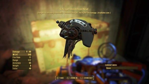 fallout 4 automatron assaultron head