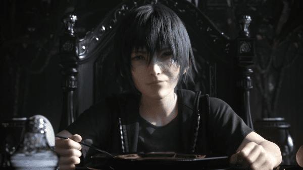 Final Fantasy XV, FFXV, young Noctis, demo
