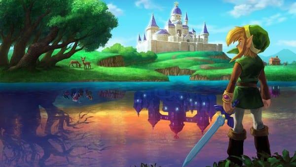The Legend of Zelda, A Link Between Worlds