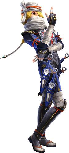 Hyrule Warriors Legends_03 Sheik
