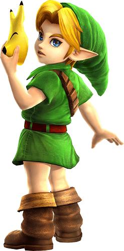 Hyrule Warriors Legends_18 Young Link