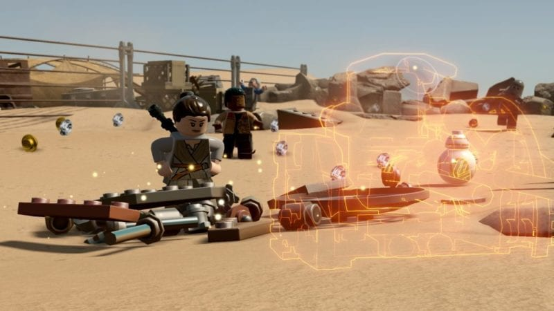 LEGO Star Wars The Force Awakens multi builds