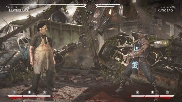 Mortal Kombat X How To Play Leatherface