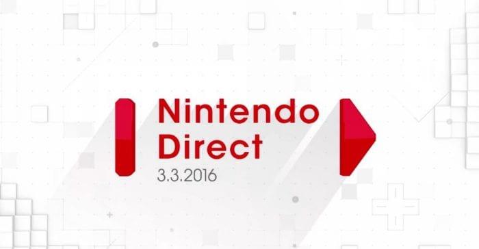 Nintendo Direct, March 2016