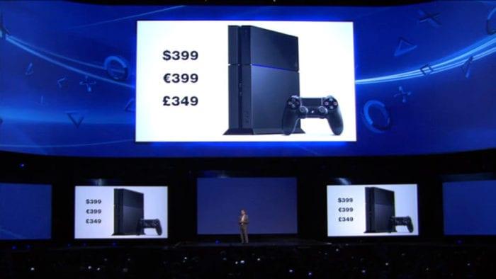 PS4 price