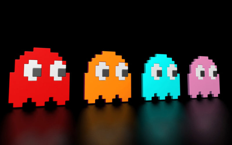 Pac-man-ghosts