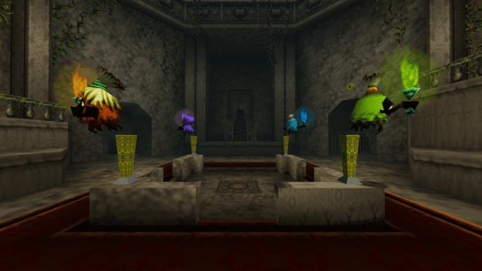 Legend of Zelda Dungeons Forest Temple