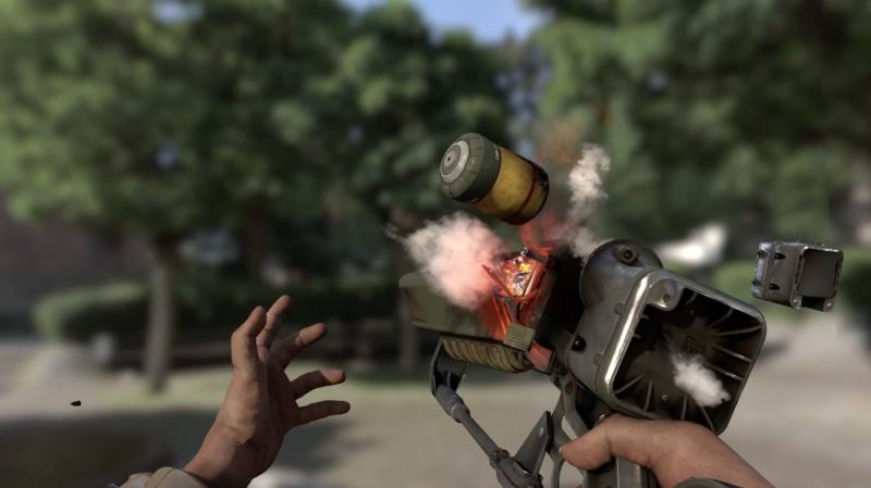 Fallout 4 Weapon Condition Animation exploding plasma gun