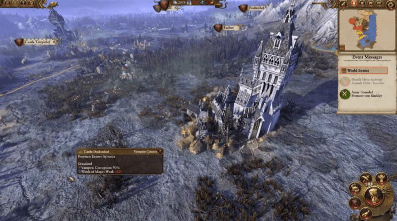 Total War: Warhammer Vampire Counts Gameplay