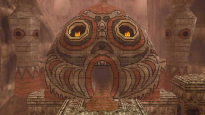 Legend of Zelda Dungeons Stone Tower Temple