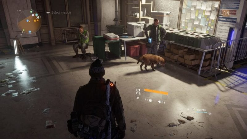 The Division Dog