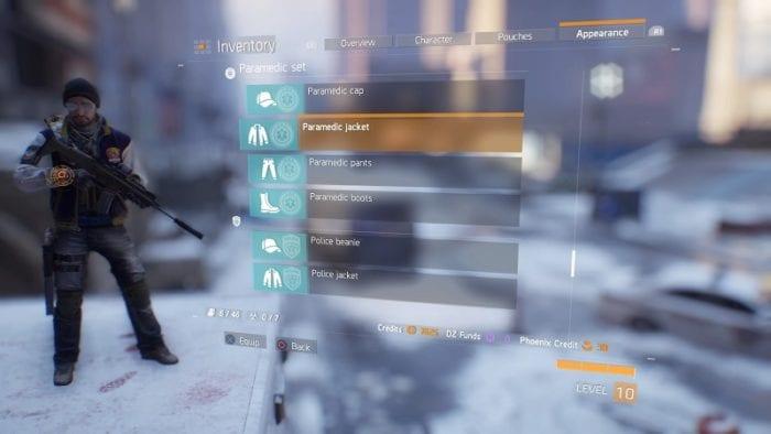 The Division agent origins 2