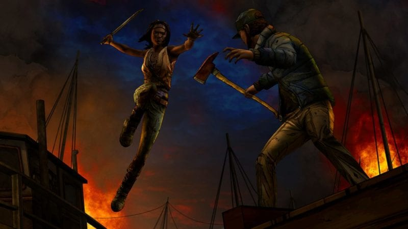 The Walking Dead, Michonne, episode 2, Give No Shelter, Telltale Games