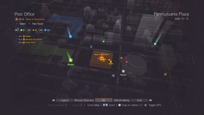 The Division, how to, fast travel