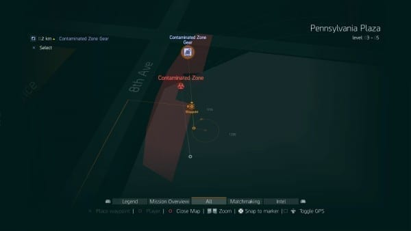 contamination zones, how to, guides, get, the division