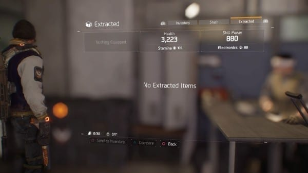 extracted loot