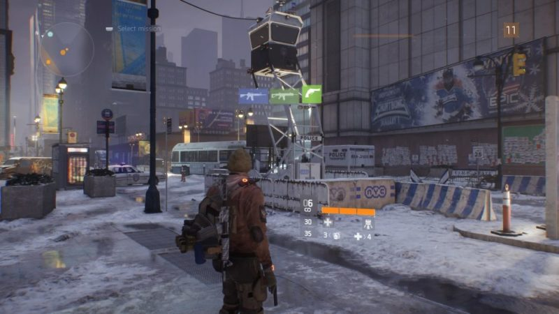 The Division, how to, switch, weapons, sidearm