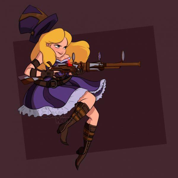 Alice as Caitlyn