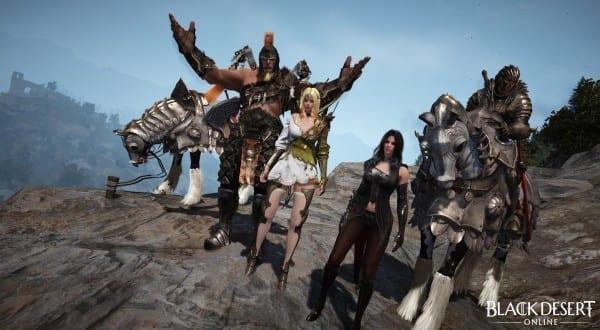 black desert online group