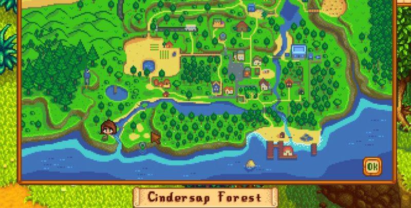 cindersap forest