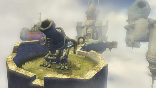 Legend of Zelda City in the Sky Dungeon