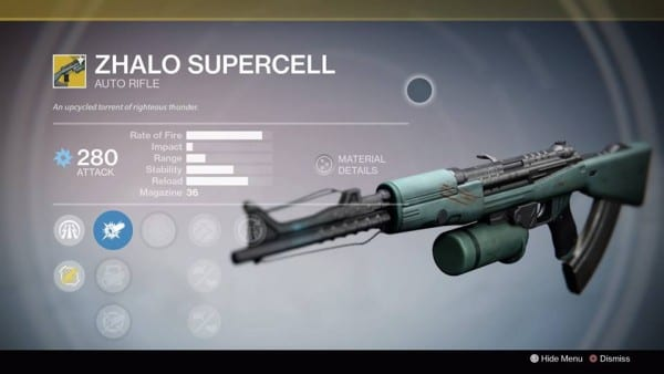 destiny zhalo supercell