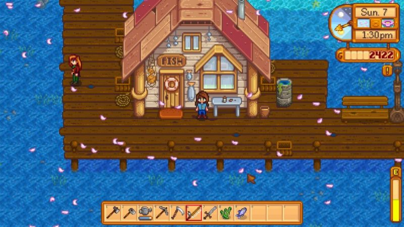 fishing stardew valley bait and tackle shop