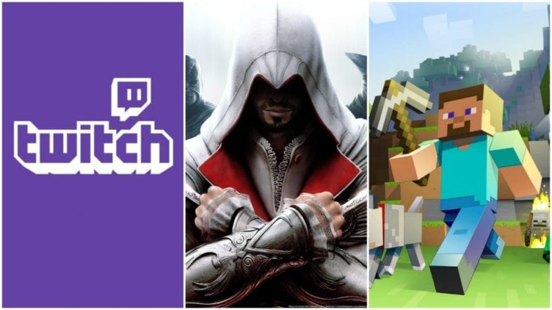 assassin's creed twitch minecraft