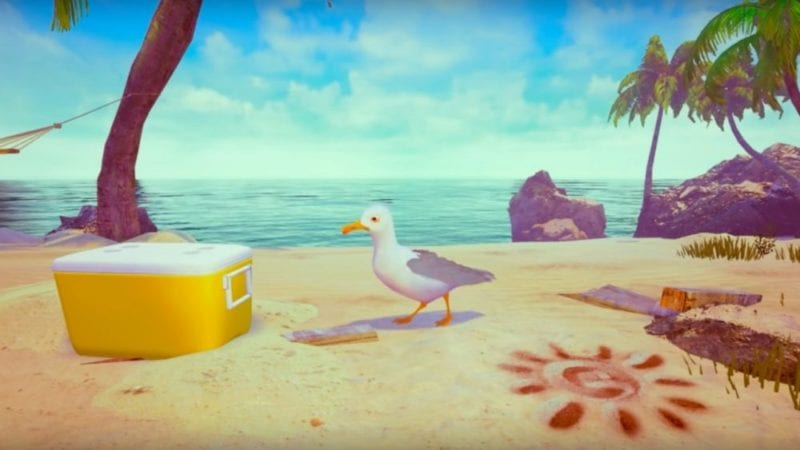 Gary the Gull preview VR hands on