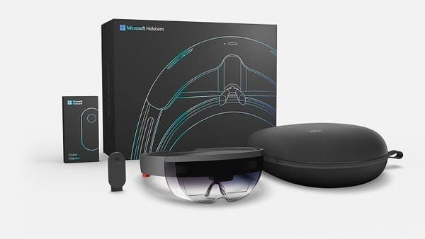 microsoft hololens devkit packaging