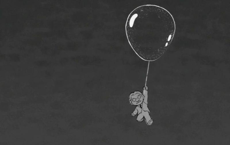Satoru Iwata GDC 2016 awards animated tribute bubble