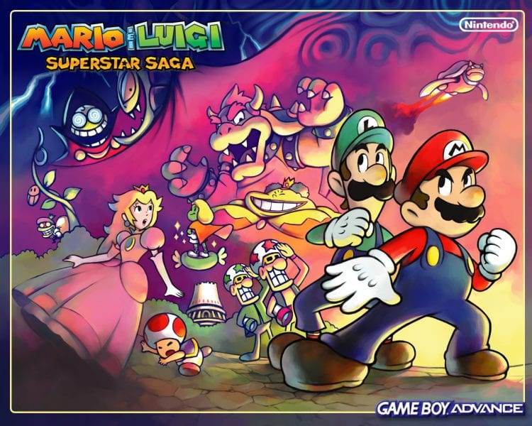 mario and luigi superstar saga