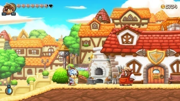 monster boy, ps4, announcement, wonder boy