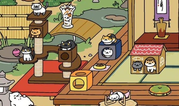 neko atsume how to get all cats with their favorite goodies. Black Bedroom Furniture Sets. Home Design Ideas