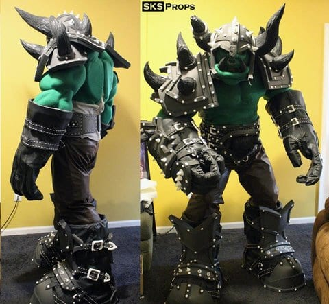 Warcraft Orc Cosplay 3