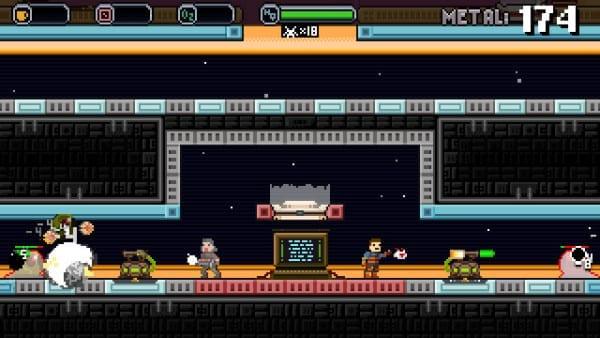 Spacejacked Crew Defense