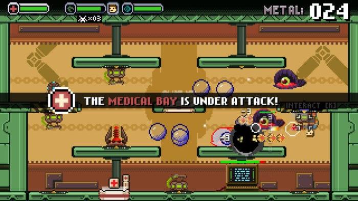 spacejacked medical bay