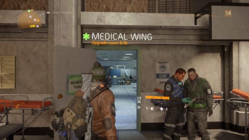 the division medical wing