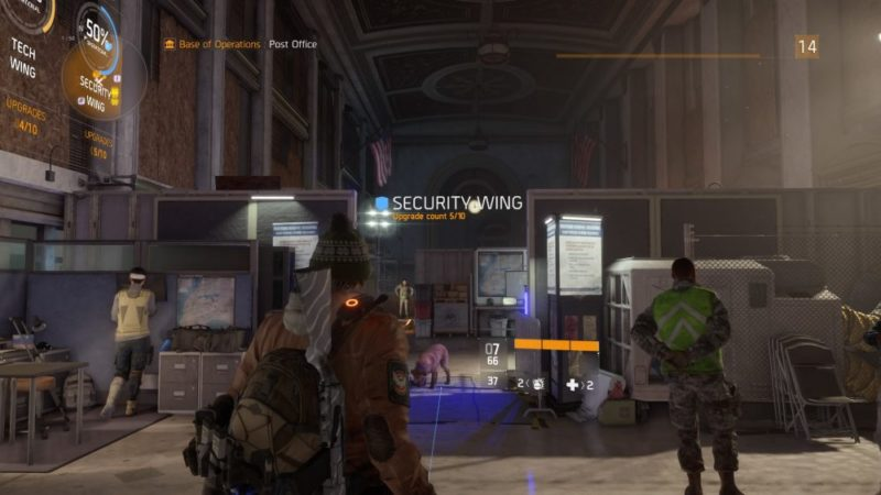 the division security wing