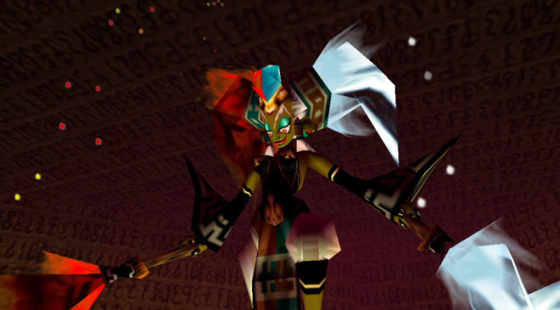 Zelda bosses Twinrova