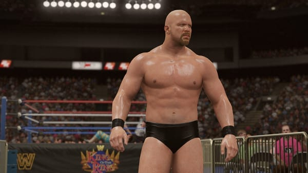 WWE 2K16 win by DQ