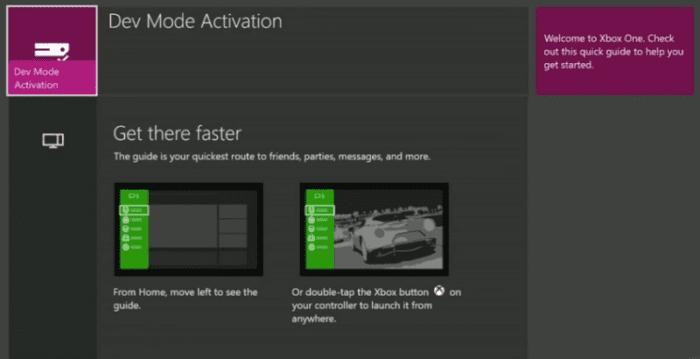 xbox dev mode 4
